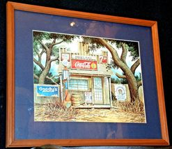Coca-Cola Picture Junior's Place  AA-191915  Collectible Framed image 5