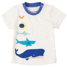 Sea World Pure Cotton Infant Tee Baby Toddler T-Shirt WHITE 73 CM (6-12M)