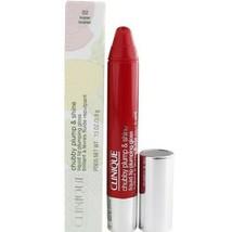 2 X Clinique Chubby Plump & Shine Liquid Lip Plumping Gloss ~ 02 Super Scarlet - $19.99