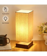 Touch Control Table Lamp Bedside 3 Way Dimmable Desk Lamp Modern Night L... - $38.69