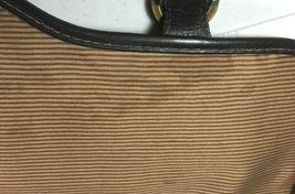 Santa Fe Dilana Vintage Dark Brown Leather Briefcase Laptop Bag – Distressed image 10