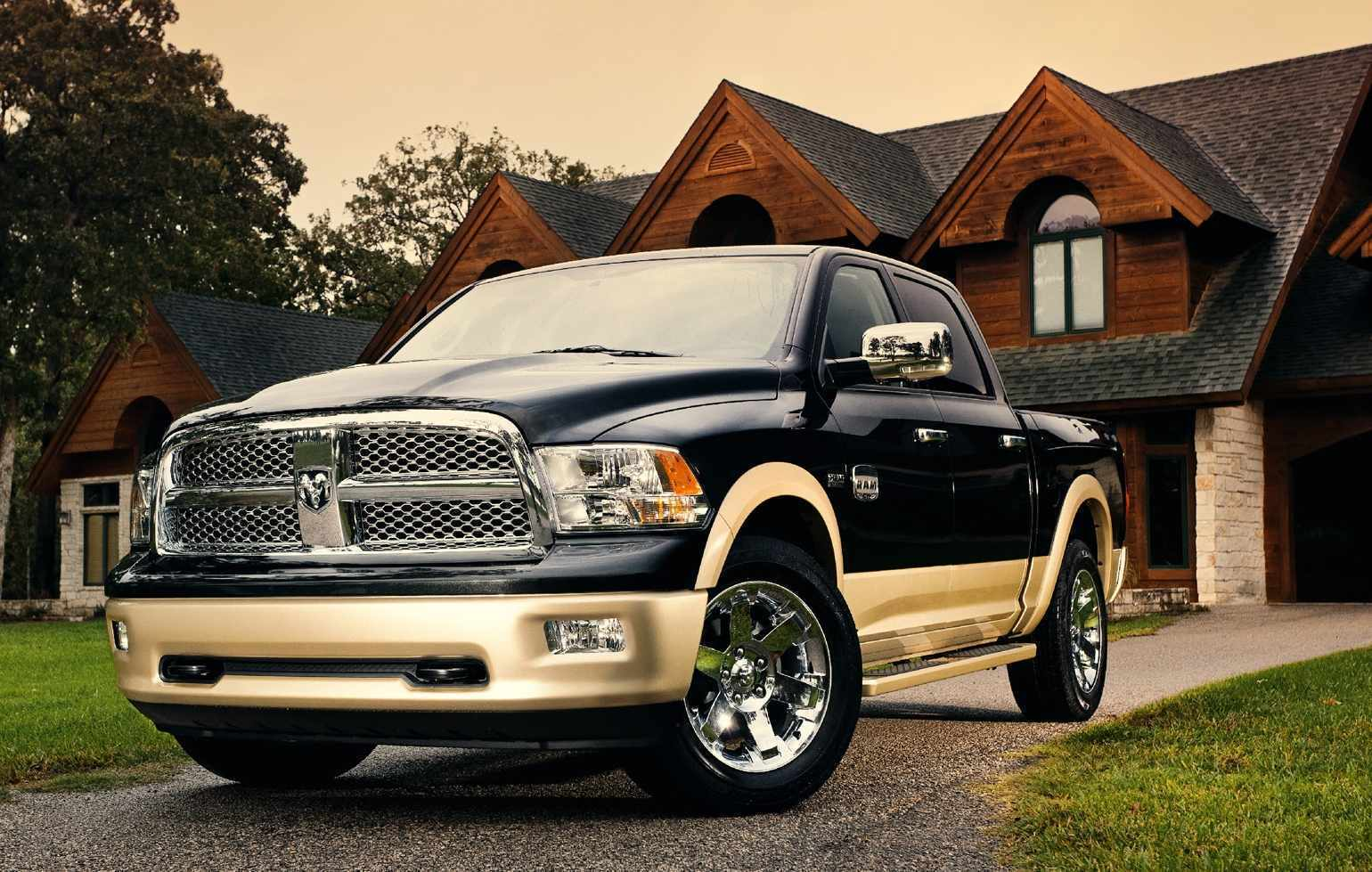 Primary image for 2013 RAM 1500 LARAMIE CREW CAB POSTER | 24 x 36 INCH | DODGE | TRUCK | MAN CAVE