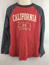 Old Navy Kids Red and Gray California Long Sleeve Shirt Shirt Size S 6-7 - $14.01