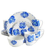 Gibson Home Classic Riviera 16 Piece Dinnerware Set in Floral Print - $62.77