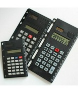 Creative Binder Spiral Calculator Notebook 8 A5 A6 A7 For Digits Solar F... - $15.83+