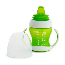 Munchkin Gentle Transition Trainer Cup 125ml Green - $27.69