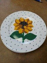 "RARE B&D Tabletops Unlimited ""SUNFLOWER SEEDS"" pattern Bread Plate - 4 available - $5.87"