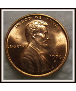 1970-S 1c Red Small Date Lincoln Cent (BU) - $54.99