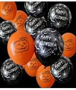 "50pcs 12"" Halloween Balloons Latex Helium Thickening Inflatables Decorat... - $17.79"