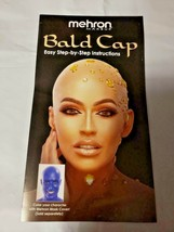 BALD CAP Professional Quality Latex Mehron Theatrical Plays Instructions - $19.75