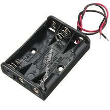 3-Slot 3 X AAA Battery Holder With Leads - $7.06