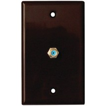DataComm Electronics 32-2024-BR 2.4GHz Coaxial Wall Plate (Brown) - $18.97