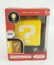 Super Mario Question Block 3D Light Lamp. New 001 - $16.62