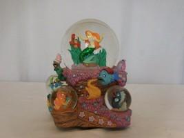 Disney The Little Mermaid Ariel Under The Sea Musical Multi Globes - $113.87