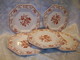 4 CASTLETON CHINA INDEPENDENCE IRONSTONE SAUCERS - $14.84