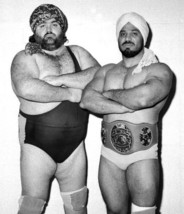 MIKHAN SINGH 8X10 PHOTO WRESTLING PICTURE STAMPEDE WRESTLING - $3.95