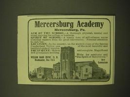 1918 Mercersburg Academy Ad - New Gymnasium - $14.99