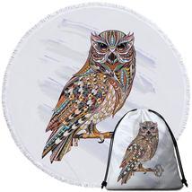 Multi Colored Owl Beach Towel - $12.32+