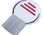 1PC Stainless Steel Terminator Lice Comb Nit Free Kids Hair Rid Headlice Super D