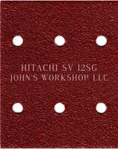 Build Your Own Bundle of HITACHI SV 12SG 1/4 Sheet No-Slip Sandpaper - 17 Grits! - $0.99