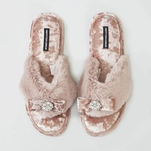 Pretty You London Womens Toe Post Amelie Pink - Medium - $55.00