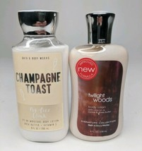 Bath & Body Works Twilight Woods Lotion & Champagne Toast Lotion 8 Oz - ... - $19.80