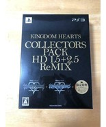 Kingdom Hearts Colle HD1.5 + 2.5 ReMIX books, music and games video game... - $145.73