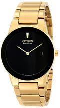 Citizen Men's Eco-Drive Gold tone Axiom Watch AU1062-56E image 1