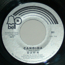 45 RPM Dawn Candida, Look At Bell Columbia Pop Rock Vinyle Record 903 NM - $9.09