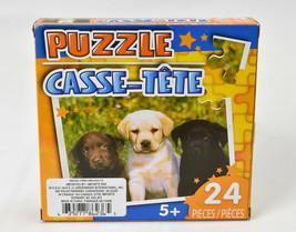Puzzle Casse Tete Puppy Dogs Jigsaw Puzzle 24 Pieces - $11.83