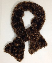 Womens Scarf Velvety Silky Soft Plush Faux Fur ... - $9.99