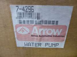 7-4296 Ford Water Pump Remanufactured By Arrow E69Z-8501-A, ZZM1-15-010 image 2