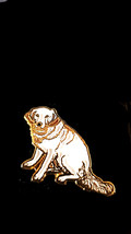 dog Metal Enamel Badge Lapel /tie Pin Badge 3d effect with clip for rear