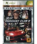Midnight Club 2 - Platinum Hits (Microsoft Xbox) Complete  - $2.47