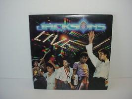 The Jacksons Live Michael Jackson Record Lp Album Vinyl 33 rpm - $19.75
