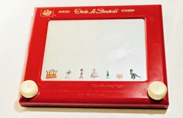 Vintage 505 Disney World Art Magic Etch-A-Sketch Screen Red Toy Story Ed... - $29.69
