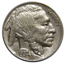 1930S Buffalo Nickel 5¢ Coin Lot # MZ 3125 - $29.92