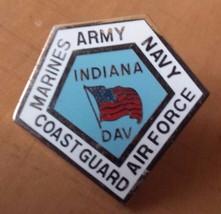 "Disabled American Veteran Indiana Lapel Pin 1"" ... - $9.89"