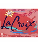 LaCroix Razz-Cranberry Sparkling Water 12 oz Cans (Pack Of 12) - $21.73
