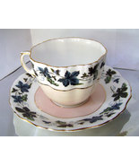 Vintage Hammersley Pink Grape Vine Tea Cup and ... - $30.00