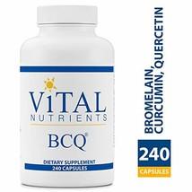 Vital Nutrients - BCQ Bromelain, Curcumin & Quercetin - Herbal Support f... - $122.85
