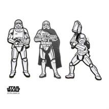 Disney Star Wars Jewelry Men's Episode 8 Stormtrooper Enamel Lapel Pin Set - $22.10