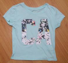 New Women's T Shirt Sz XS Aeropostale CA California Top Light Turquoise ... - $14.39