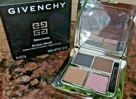 Givenchy Ecrin Prive Matte & Shimmer Eyeshadow Quad PRIVATE FELTED Nudes... - $37.59