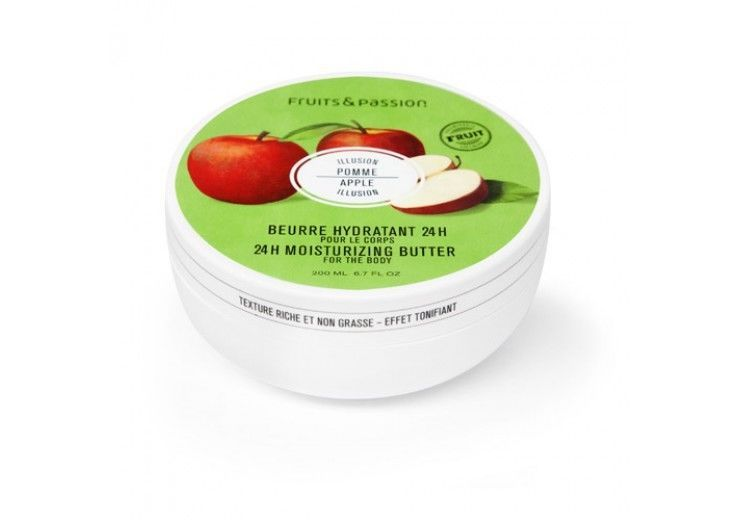 Fruits & Passion  24h Moisturizing Perfumed Body  butter 200 Ml -  Apple Illusio