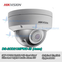 Hikvision DS-2CD2135FWD-IS 3MP Ultra-Low Light H.265 IR Audio Dome Camer... - $105.44