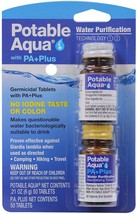 Potable Aqua PA Plus Water Purification Treatment Tablets - $18.99