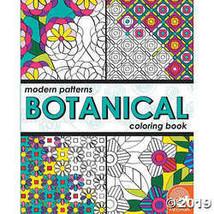 Modern Patterns Botanical Coloring Book - $8.69
