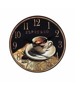 PANDA SUPERSTORE Retro Nostalgia Wooden Wall Clock Vintage Look Home Dec... - $45.34