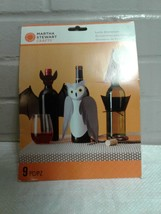 Martha Stewart 3 Bottle Decoration Crafts 9PC / PZ New - $7.91